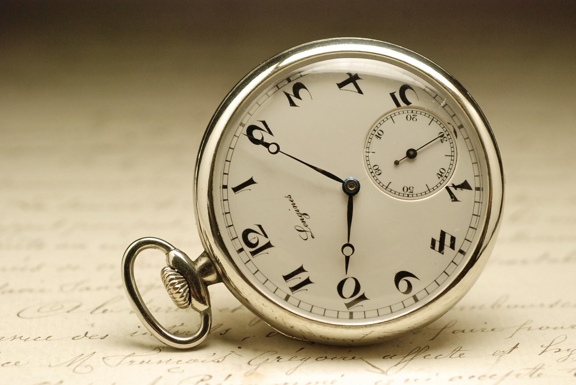 ancienne montre gousset longines 1920 vintage pocket watch. Black Bedroom Furniture Sets. Home Design Ideas