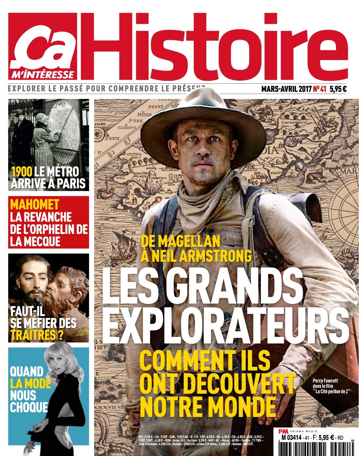 Ça M'Intéresse Histoire N°41 - Mars/Avril 2017