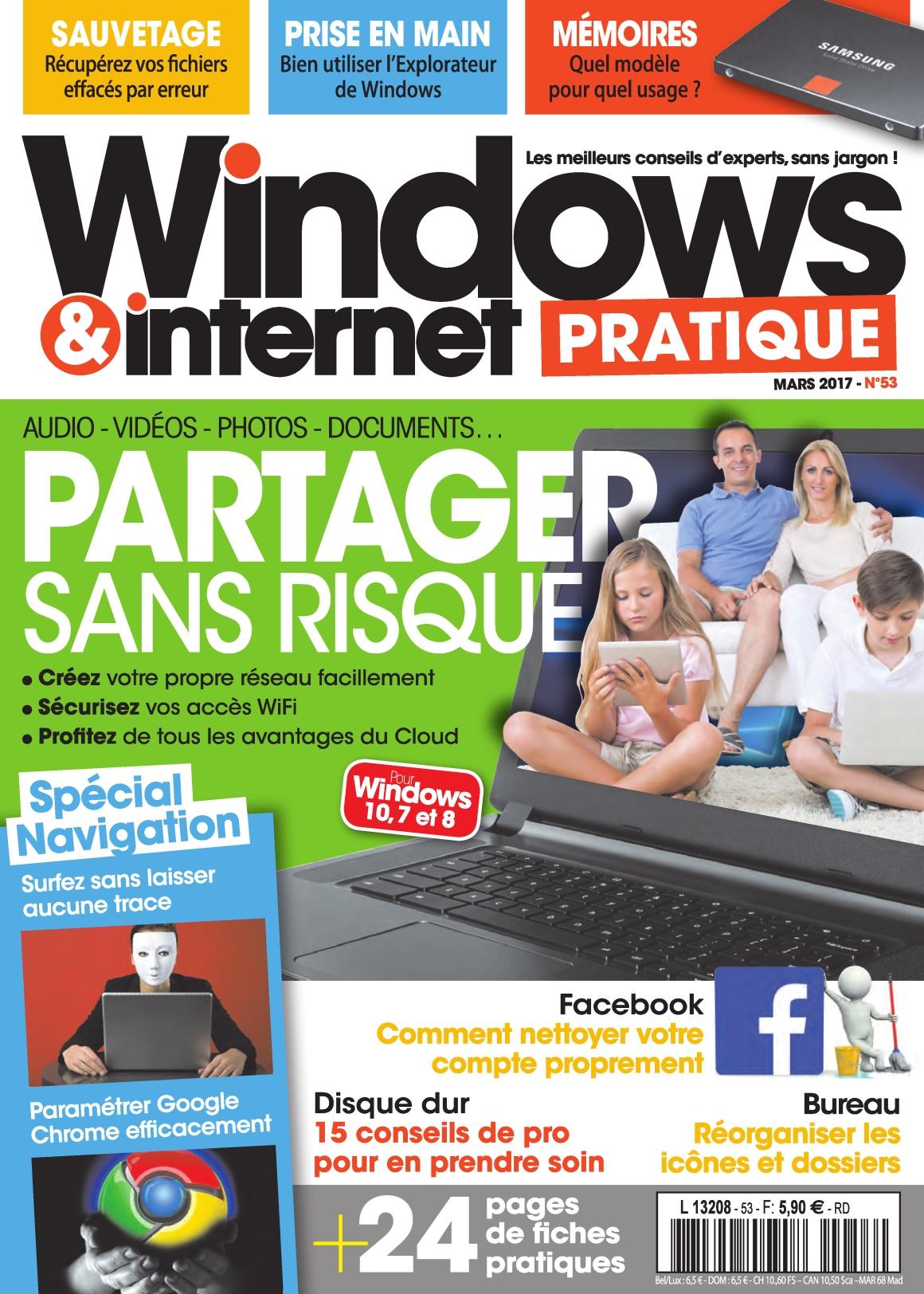 Windows & Internet Pratique N°53 - Mars 2017