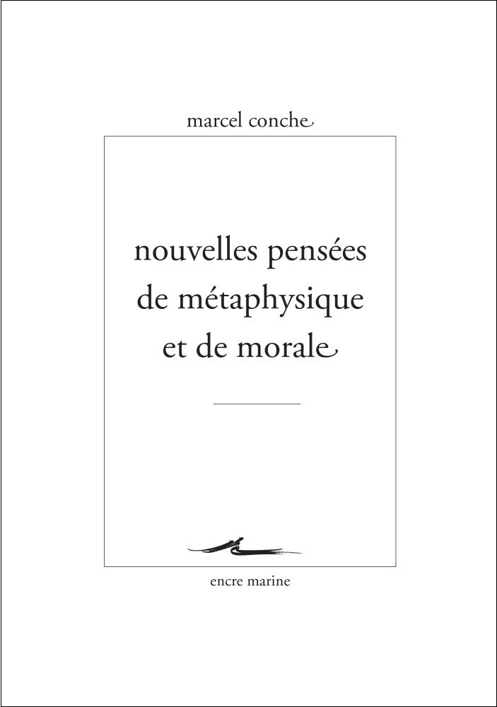 Nouvelles pensées de métaphysique et de morale