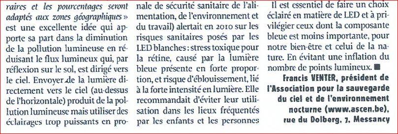 Eclairages LED et lumière bleu (article de presse) 170213085359351154