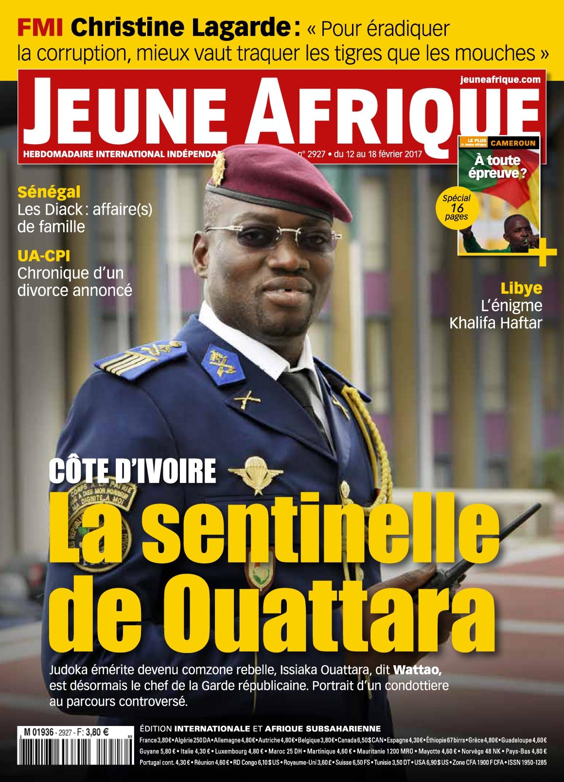 Jeune Afrique N°2927 - 12 au 18 Février 2017