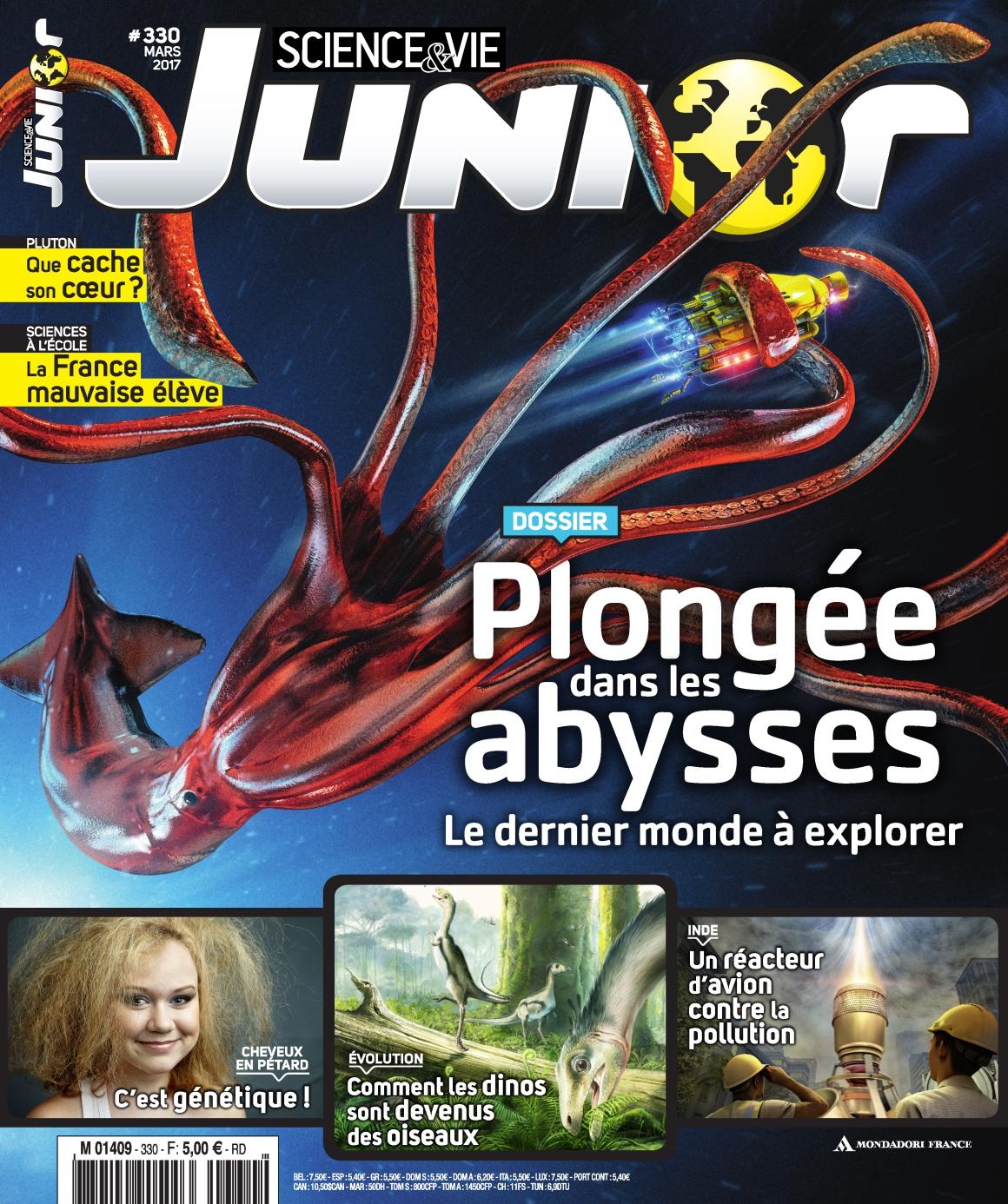 Science & Vie Junior N°330 - Mars 2017