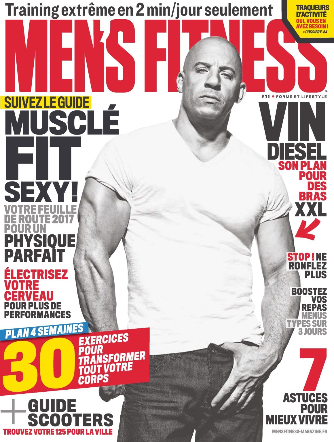 Men's Fitness N°12 - Mars 2017