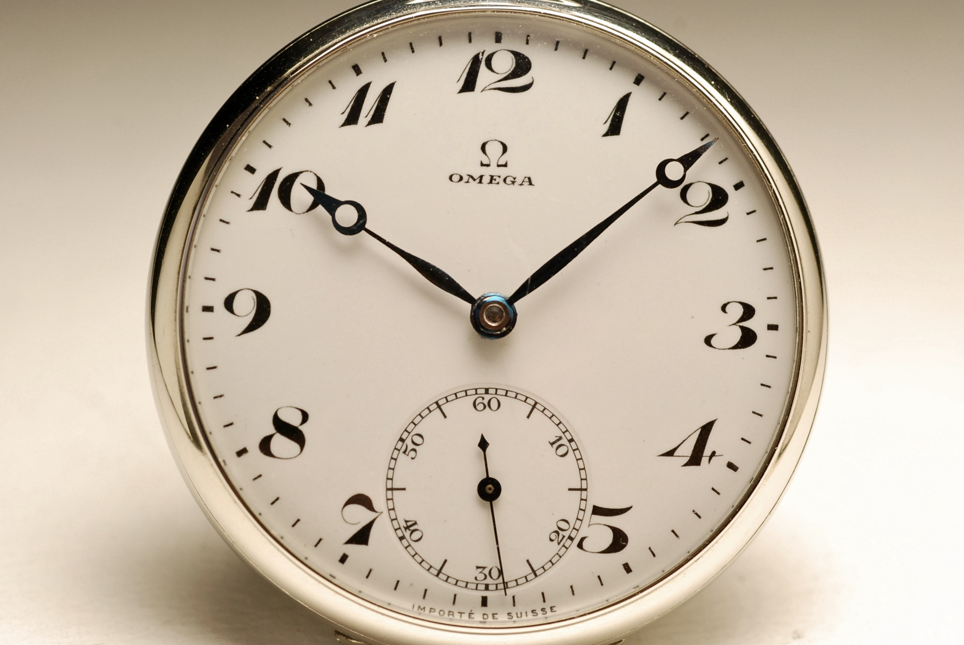 ancienne montre gousset omega 1920 vintage pocket watch ebay. Black Bedroom Furniture Sets. Home Design Ideas