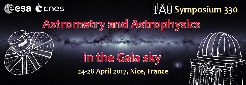 Symposium UAI-IAU : Astrometry and Astrophysics in the Gaia Sky (24-28 avril 2017) 170224093742363531