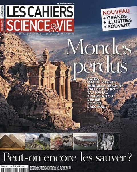 Les Cahiers de Science & Vie n°130 : Mondes perdus