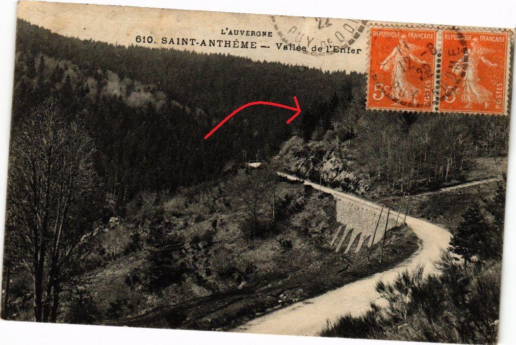 CPA-St-Antheme-Vallee-de-lEnfer-250188