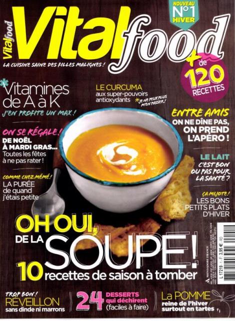 Vital Food N°1 - Oh oui, de la soupe !