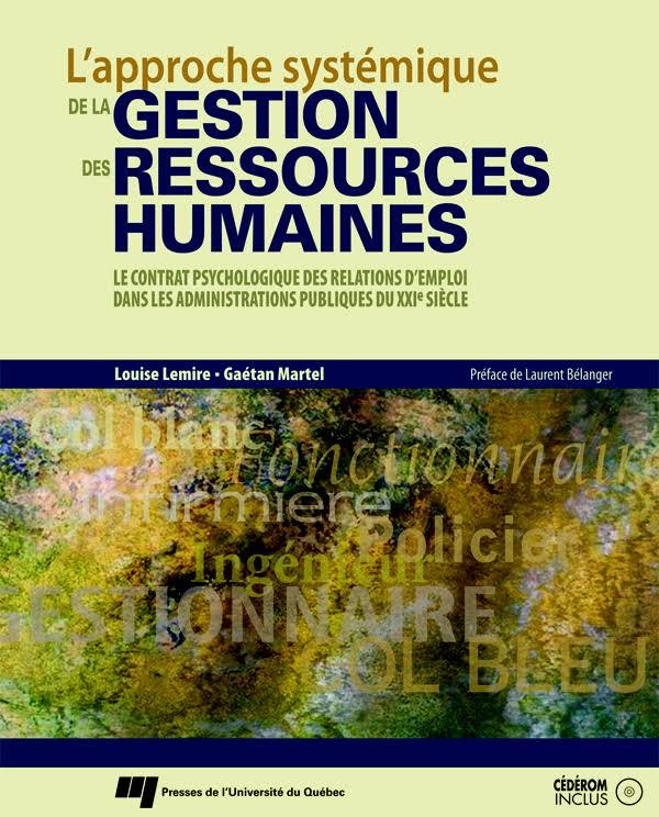 télécharger L'approche systémique de la gestion des ressources humaines