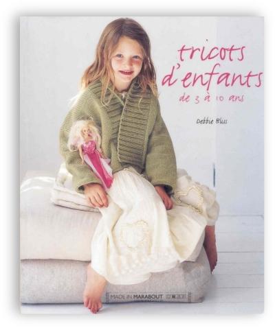 Tricots d'enfants de 3 a 10 ans - Debbie Bliss