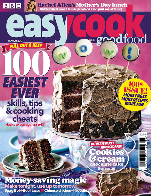 BBC Easy Cook – March 2017