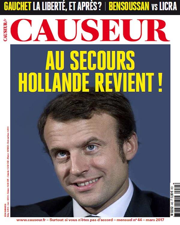 Causeur N°44 - Mars 2017