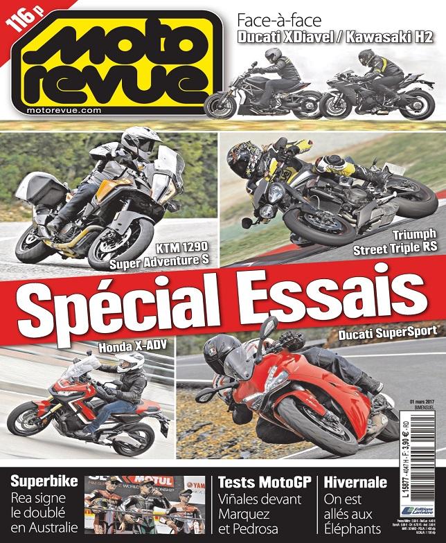 télécharger Moto Revue N°4047 Du 1er Mars 2017
