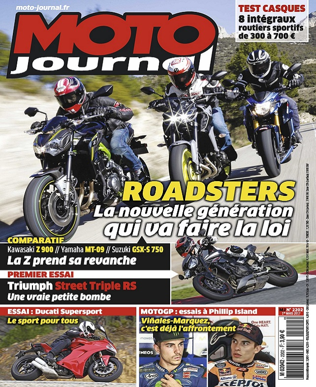télécharger Moto Journal N°2202 Du 1er Mars 2017