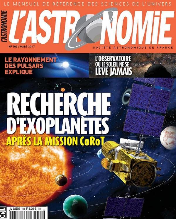 télécharger L'Astronomie N°103 - Mars 2017