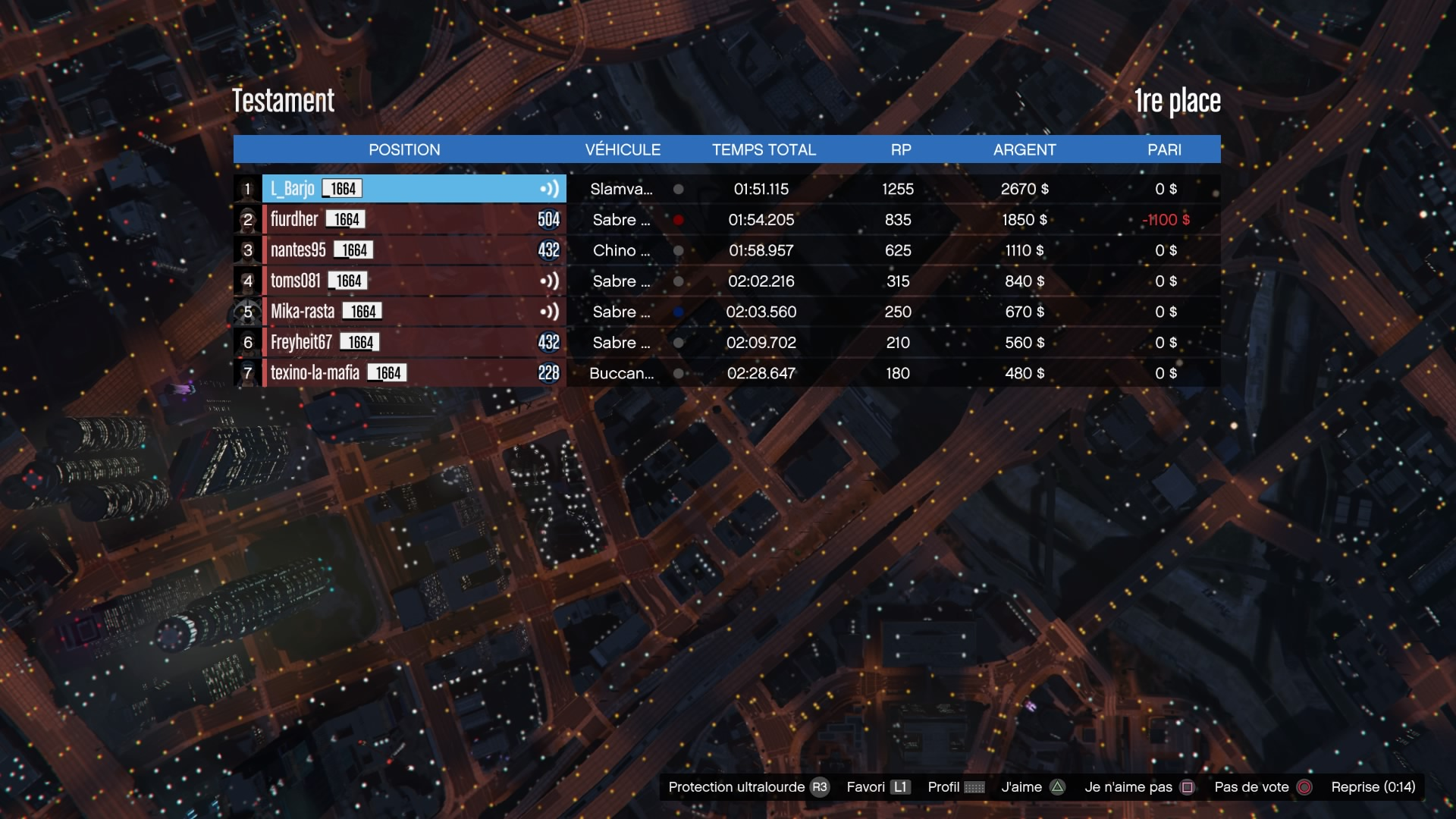 [EVENT][GTA] Born To Race 3 (1/03/17) - Page 2 17030204153698837