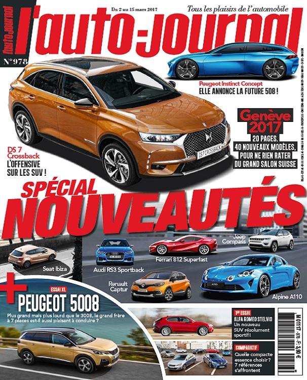 télécharger L'Auto-Journal N°978 Du 2 au 15 Mars 2017