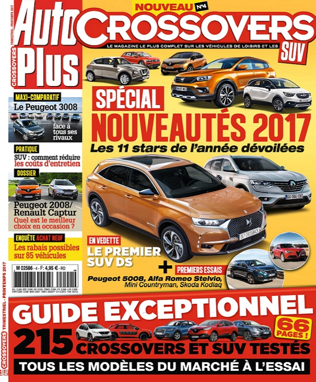 télécharger Auto Plus Hors Série Crossovers N°4 - Printemps 2017