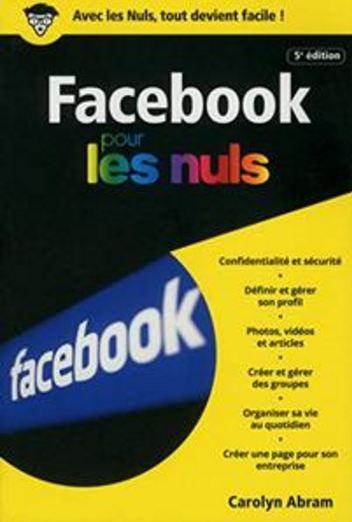 télécharger Facebook 5e édition poche pour les Nuls (2017)