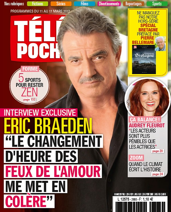 télécharger Télé Poche N°2665 Du 11 au 17 Mars 2017