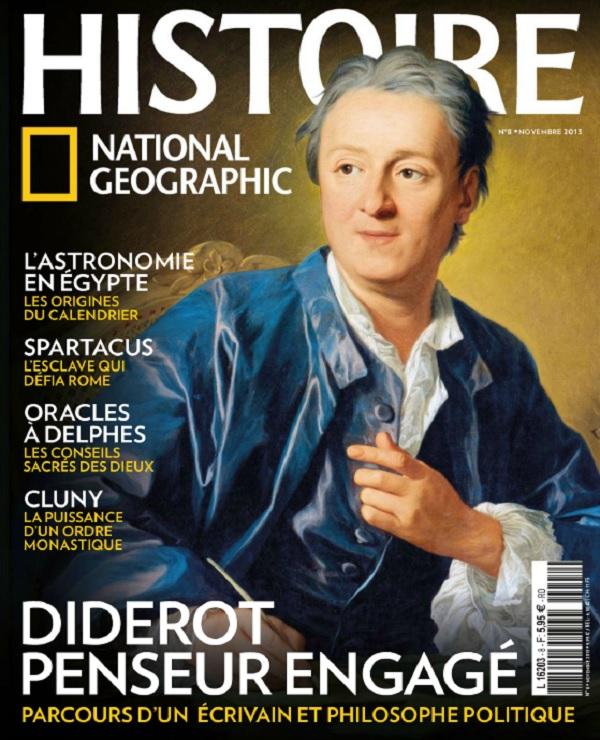 télécharger National Géographic Histoire N°8 - Diderot Penseur Engagé