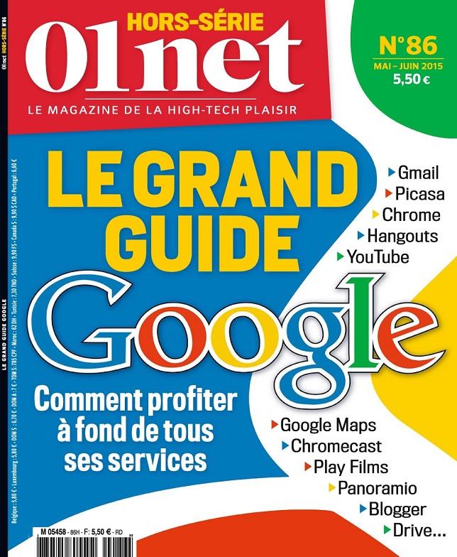 télécharger 01Net Hors Série N°86 - Le Grand Guide De Google