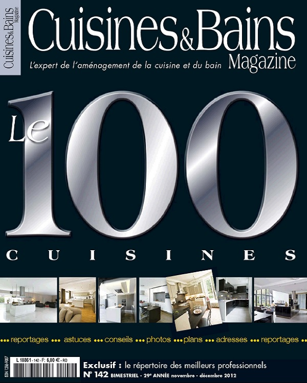 télécharger Cuisines et Bains N°142 - Le 100 Cuisines