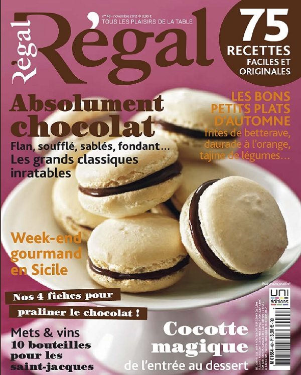 télécharger Régal N°49 - Absolument Chocolat