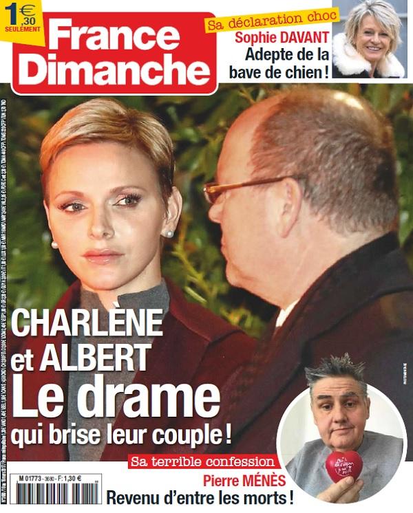 télécharger France Dimanche N°3680 Du 10 au 16 Mars 2017