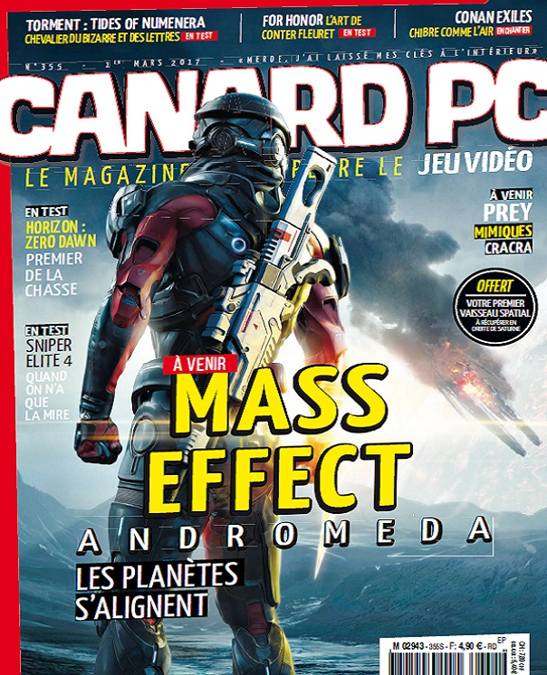 télécharger Canard PC N°355 Du 1er Mars 2017