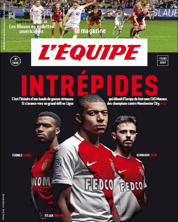 télécharger L'Equipe Magazine N°1808 Du 11 Mars 2017