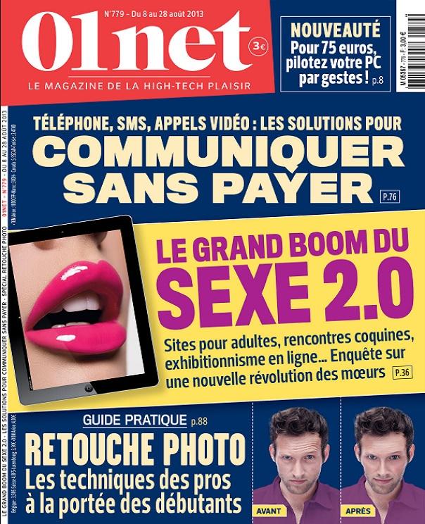 télécharger 01Net N°779 - Communiquer Sans Payer