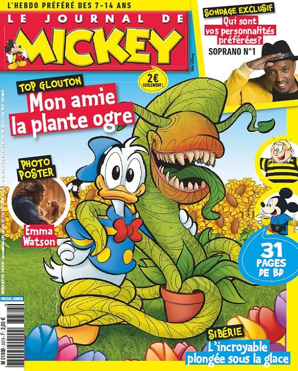 télécharger Le Journal De Mickey N°3378 Du 15 Mars 2017