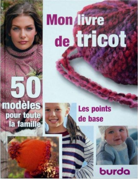 télécharger Mon livre de tricot - Burda, Dipa