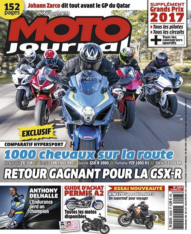 télécharger Moto Journal N°2203 Du 15 Mars 2017