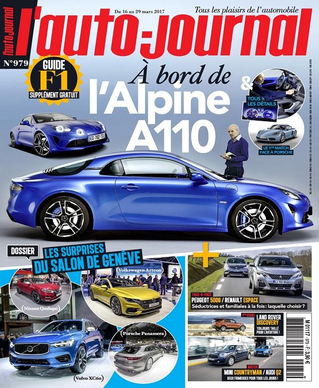 télécharger L'Auto-Journal N°979 Du 16 au 29 Mars 2017