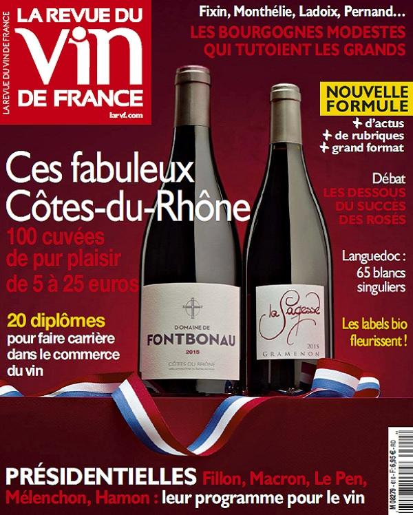 télécharger La Revue Du Vin De France N°610 - Avril 2017
