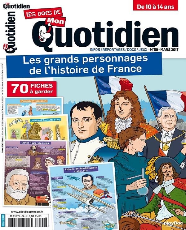télécharger Les Docs De Mon Quotidien N°59 - Mars 2017