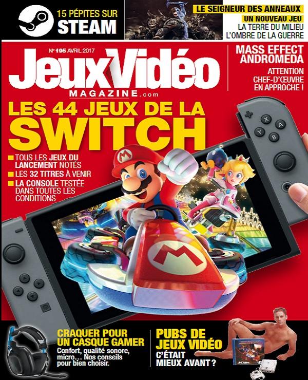 télécharger Jeux Vidéo Magazine N°195 - Avril 2017