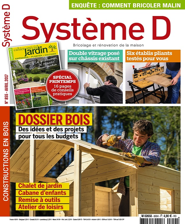 télécharger Système D N°855 - Avril 2017