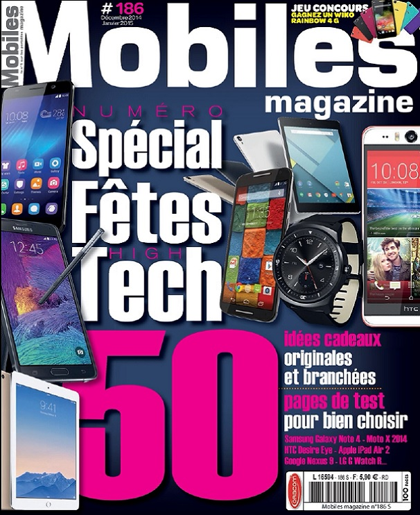 télécharger Mobiles Magazine N°186 - Spécial Fêtes High-Tech