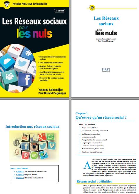 TELECHARGER MAGAZINE Les réseaux sociaux pour les nuls 2e Edition ( 2017 ). First