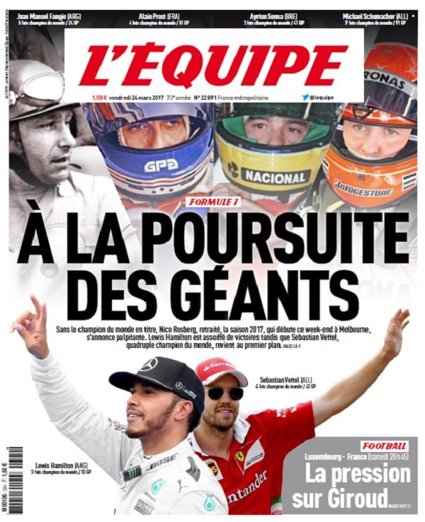 télécharger L'Equipe Du Vendredi 24 Mars 2017