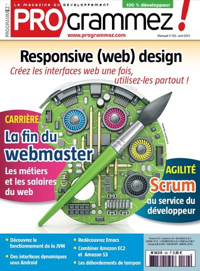 Programmez N°162 - Responsive (web) design : Créez les interfaces web une fois