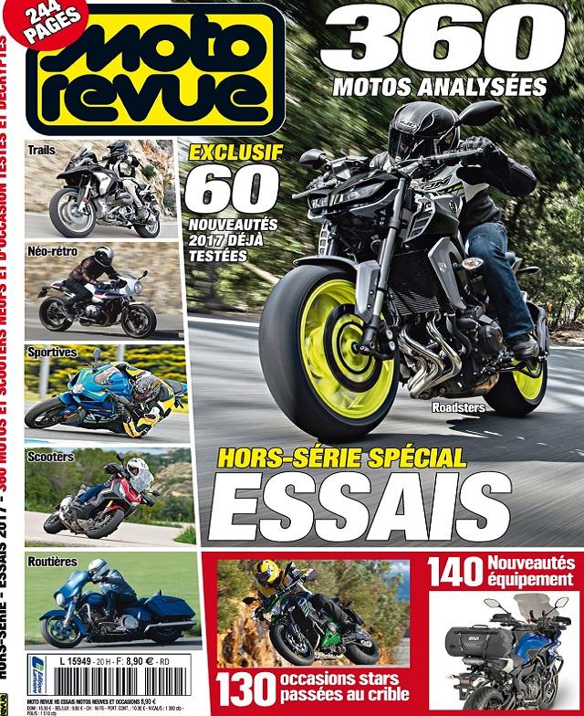 télécharger Moto Revue Hors Série N°20 - Essais 2017