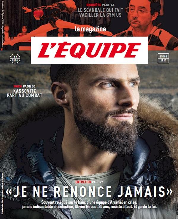 télécharger L'Equipe Magazine N°1810 Du 25 Mars 2017