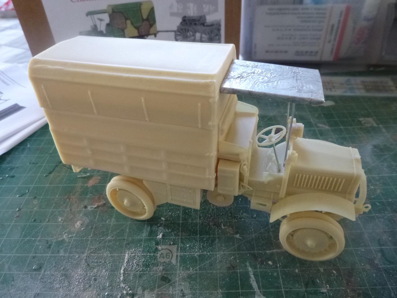 Camion Chatillon Panhard 1917 - résine de chez Blitz au 1/35 170327033011500106
