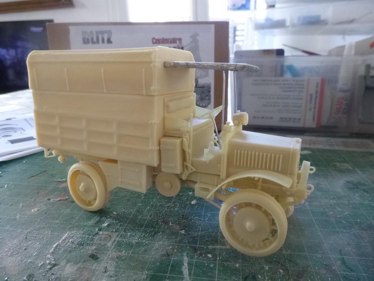 Camion Chatillon Panhard 1917 - résine de chez Blitz au 1/35 170327033018517810