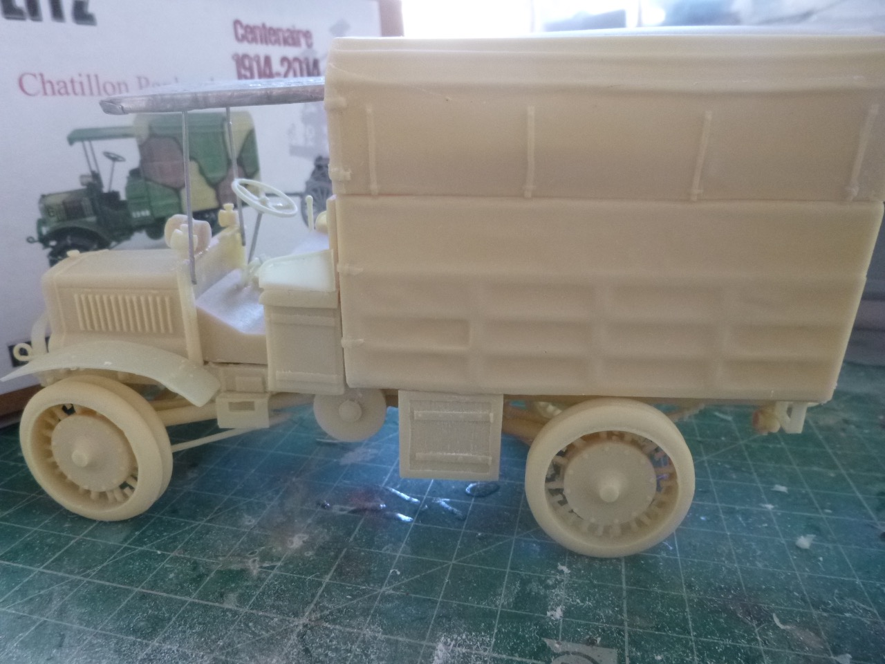 Camion Chatillon Panhard 1917 - résine de chez Blitz au 1/35 170327033034252143